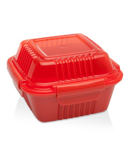 Tomato Red 12-Oz. Insulated To-Go Food Container