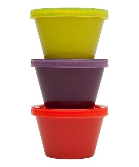 Mini 4.-Oz To-Go Snack Container Set