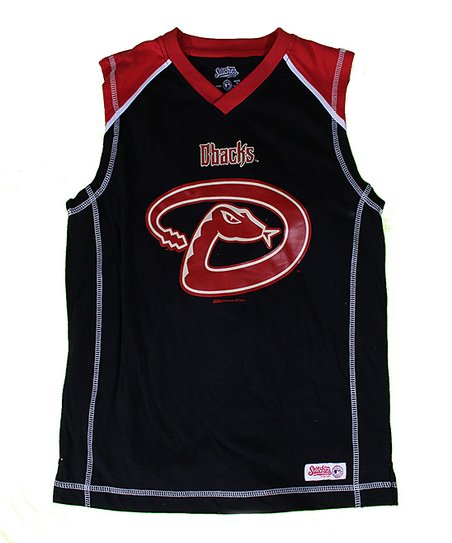 Black & Brick Arizona Diamondbacks Tank - Boys