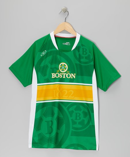 Green Boston City Series Jersey - Boys & Men