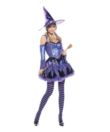Purple Witch Dress Set