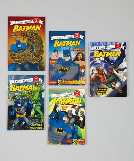 Batman: I Can Read Paperback Set