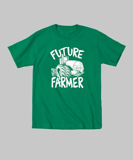 Kelly Green 'Future Farmer' Tee - Toddler & Kids