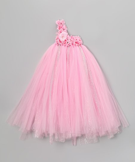 Dusty Rose Tulle Dress - Infant, Toddler & Girls