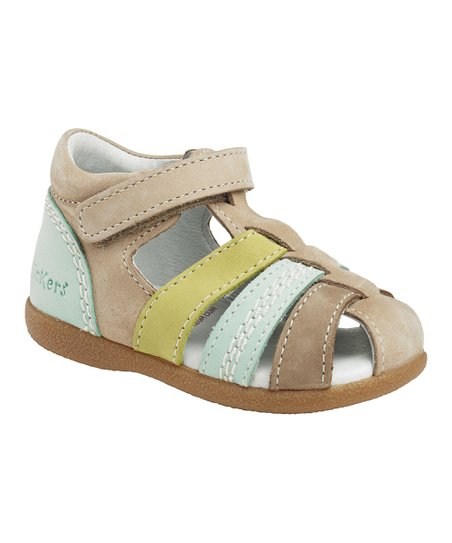 Beige Babysun Closed-Toe Sandal