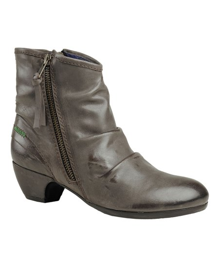 Dark Brown Elsoft Ankle Boot - Women