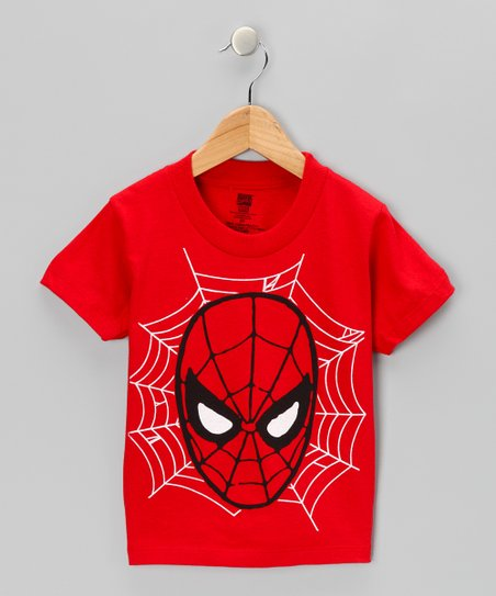Red Spider-Man Mask Tee - Toddler