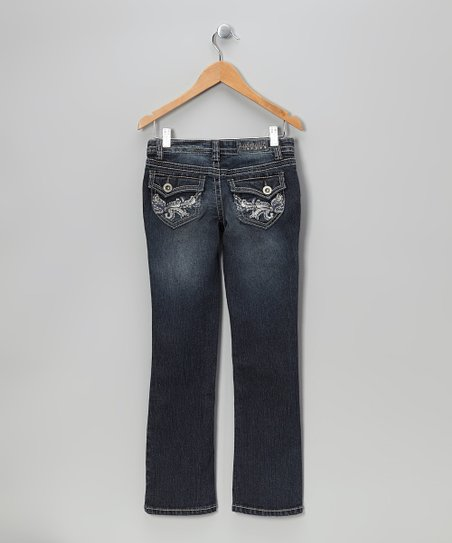 Sam Flap-Pocket Bootcut Jeans