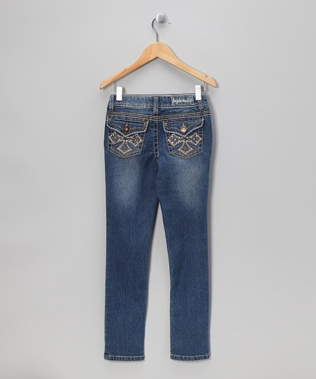 London Cross Skinny Jeans