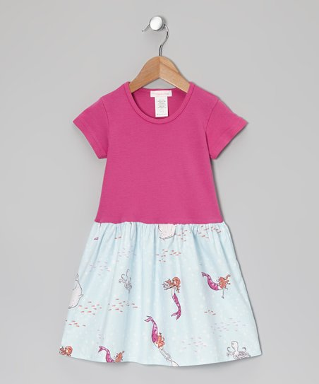 Fuchsia Under the Sea Dress - Infant, Toddler & Girls