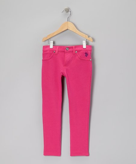 Pink Straight-Leg Jeans - Toddler