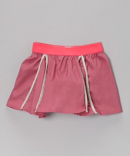 Pink & Silver Swing Skirt - Toddler & Girls