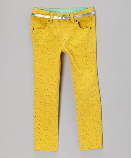 Sulfur Wish Upon a Star Straight-Leg Jeans - Girls