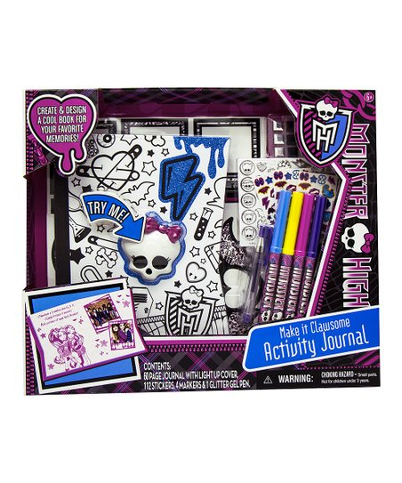 Monster High Light Up Journal