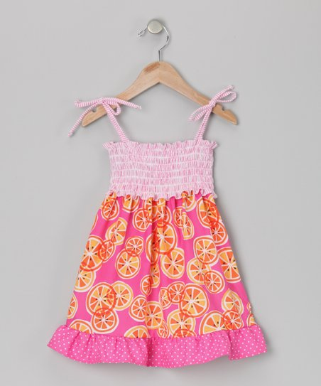 Pink Smocked Dana Dress - Infant, Toddler & Girls