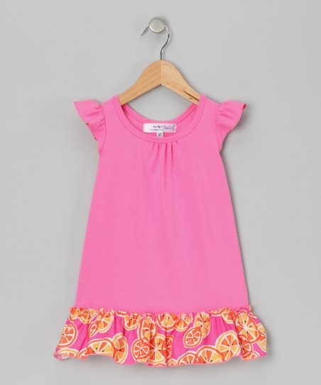 Pink Isabel Dress - Infant, Toddler & Girls