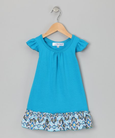 Blue Isabel Dress - Infant, Toddler & Girls