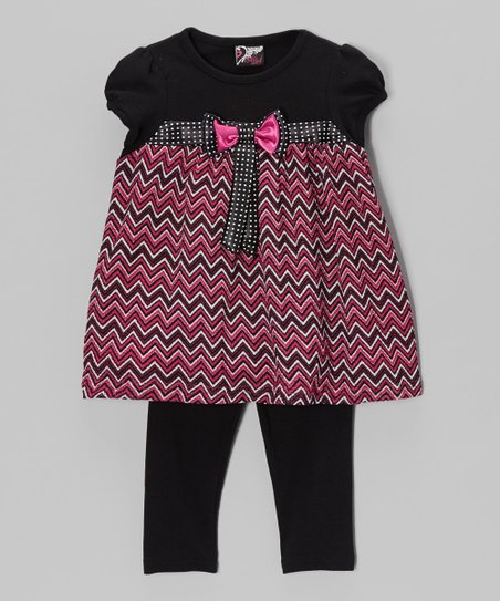 Pink Bow Tunic & Leggings – Infant, Toddler & Girls