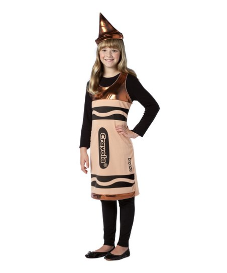 Bronze Crayola Crayon Dress-Up Set - Girls
