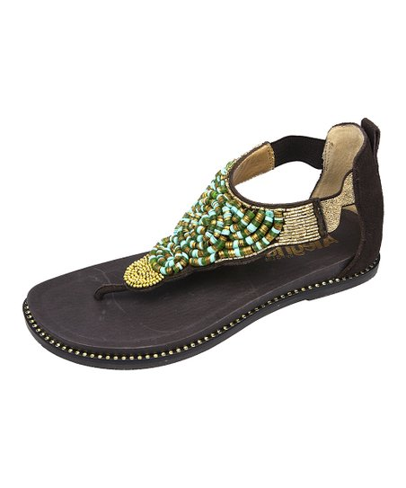 Gold Kongoh Sandal – Women