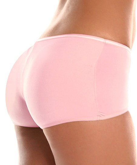 Pink BubbleBuns Padded Boyshorts - Women
