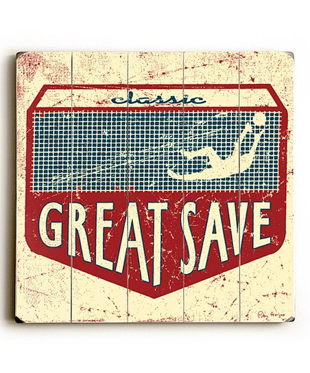 Artehouse &#039;Great Save&#039; Wall Art