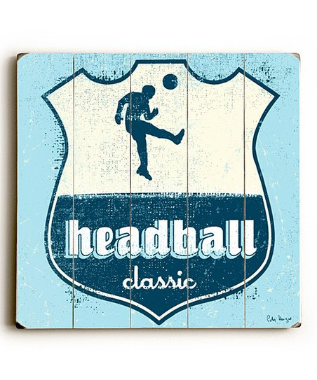 Artehouse &#039;Headball&#039; Wall Art