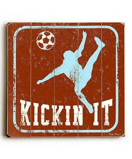 Artehouse 'Kickin It' Wall Art
