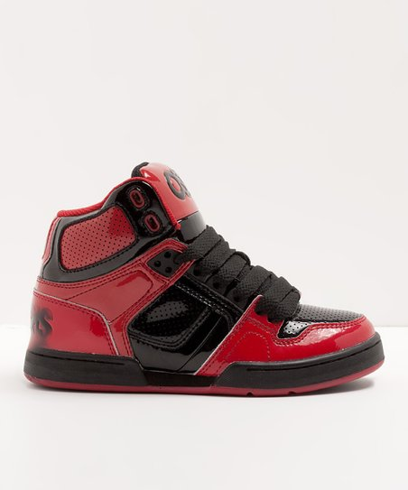 Red & Black NYC 83 Sneaker - Toddler