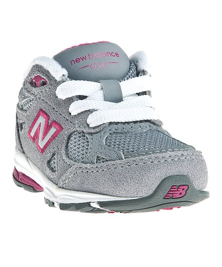 Gray & Pink KJ990 Running Shoe