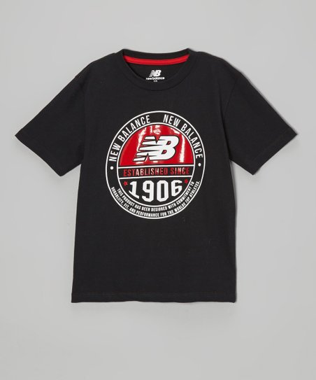 Black & Red '1906' Tee - Boys