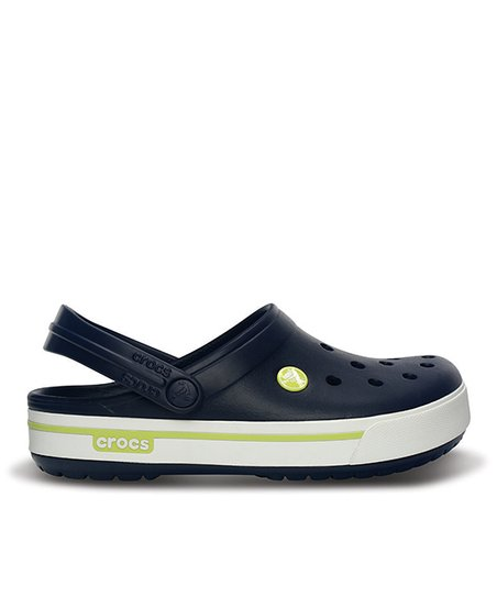 Navy & Citrus Crocband™ II.5 Clog - Women & Men
