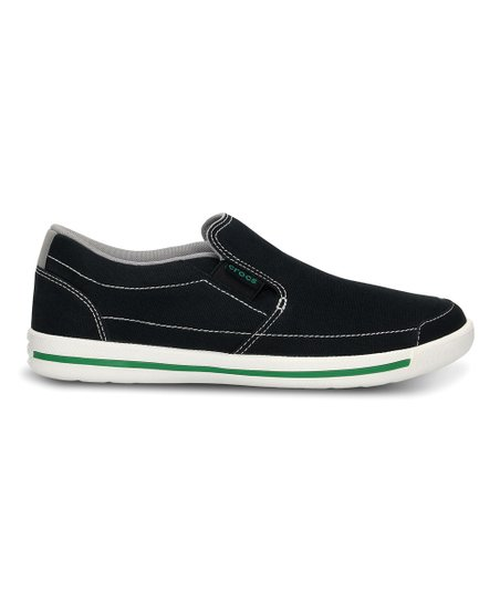 Black & White Evercourt Slip-On Sneaker - Men