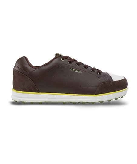 Espresso & Citrus Karlson Golf Shoe - Men