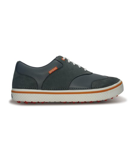 Charcoal & Pumpkin Preston Golf Shoe - Men