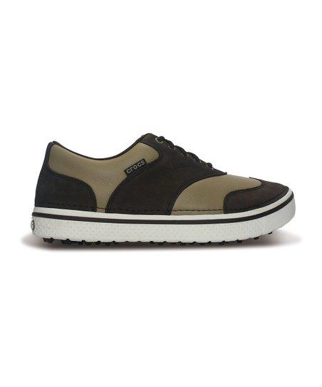 Espresso & Khaki Preston Golf Shoe - Men