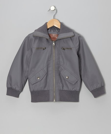 Smudge Bomber Jacket - Girls