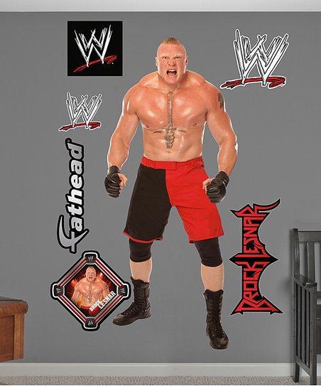 Brock Lesnar Roar Wall Decals