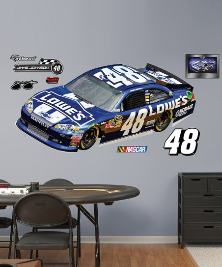 Fathead Jimmie Johnson #48 Car Wall Decal Set