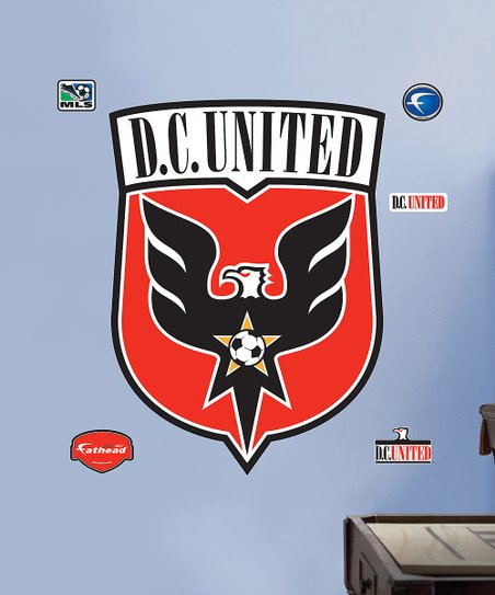 Fathead D.C. United Logo Wall Decal Set