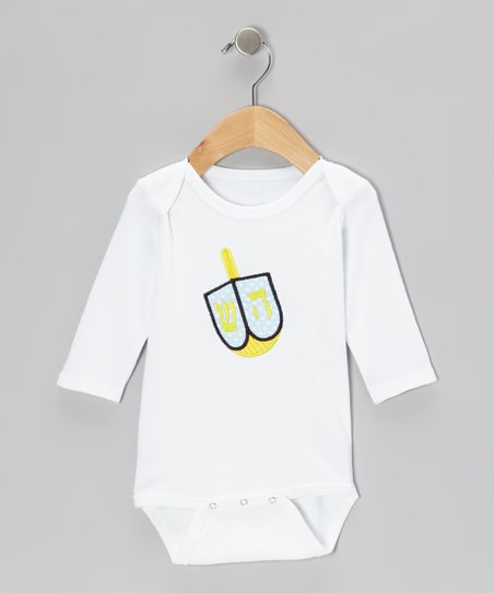 Blue Dreidel Bodysuit - Infant