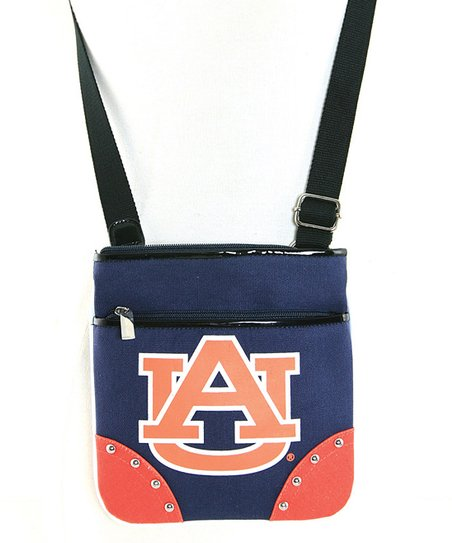 Auburn Tigers Studded Crossbody Bag
