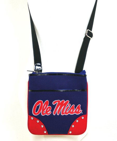 Ole Miss Rebels Studded Crossbody Bag