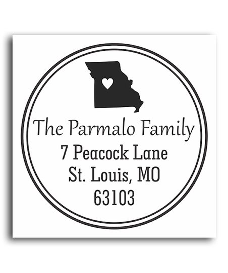 Missouri Classic Personalized Self-Inking Stamp