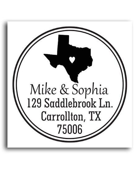 Texas Classic Personalized Self-Inking Stamp