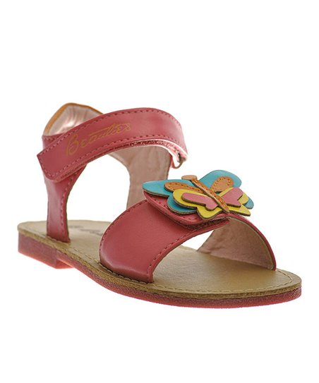 Fuchsia Adjustable Butterfly Sandal