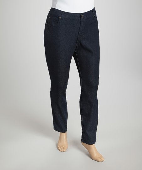 Indigo Basic Skinny Jeans - Plus