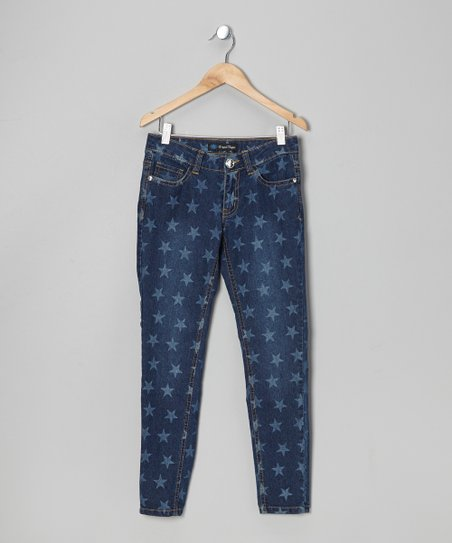 Blue Star Denim Jeans - Girls