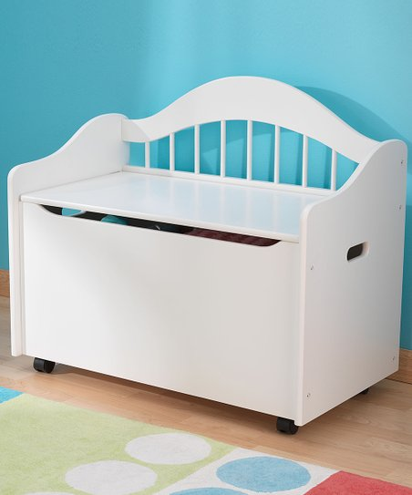 White Limited Edition Toy Box