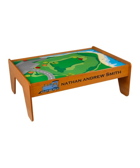 KidKraft Personalized Train Table